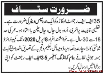 Pakistan Army Okara Jobs 2020 Latest
