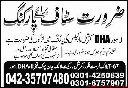 Private Sector Lahore Jobs 2020 Latest