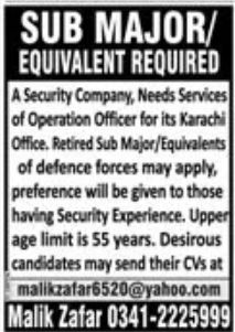 Security Company Jobs June 2020