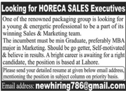 Renowned Packaging Group Jobs July 2020