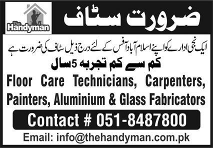 Private Sector Islamabad Jobs August 2020