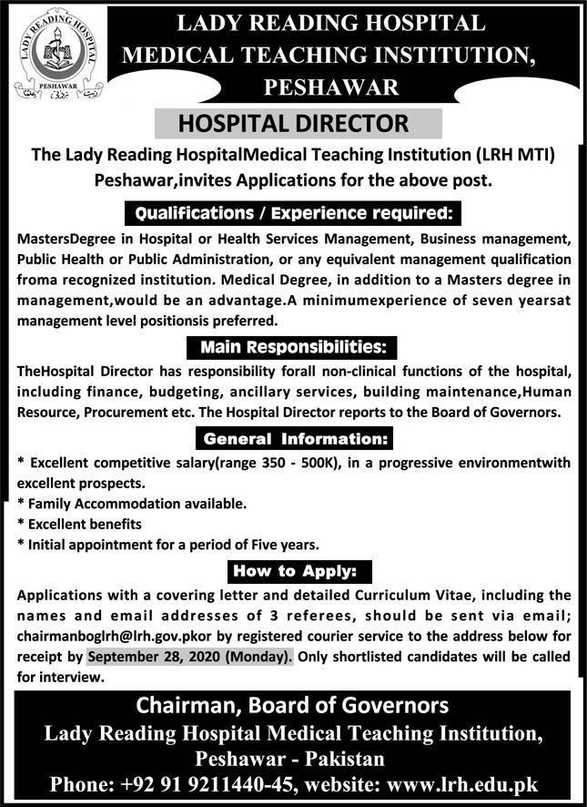 Lady Reading Hospital Jobs September 2020