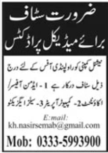 National Company Rawalpindi Jobs September 2020