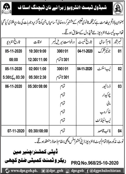 Elementary Education Department Jobs October 2020
