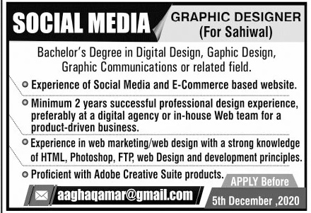 Social Media Group Jobs November 2020