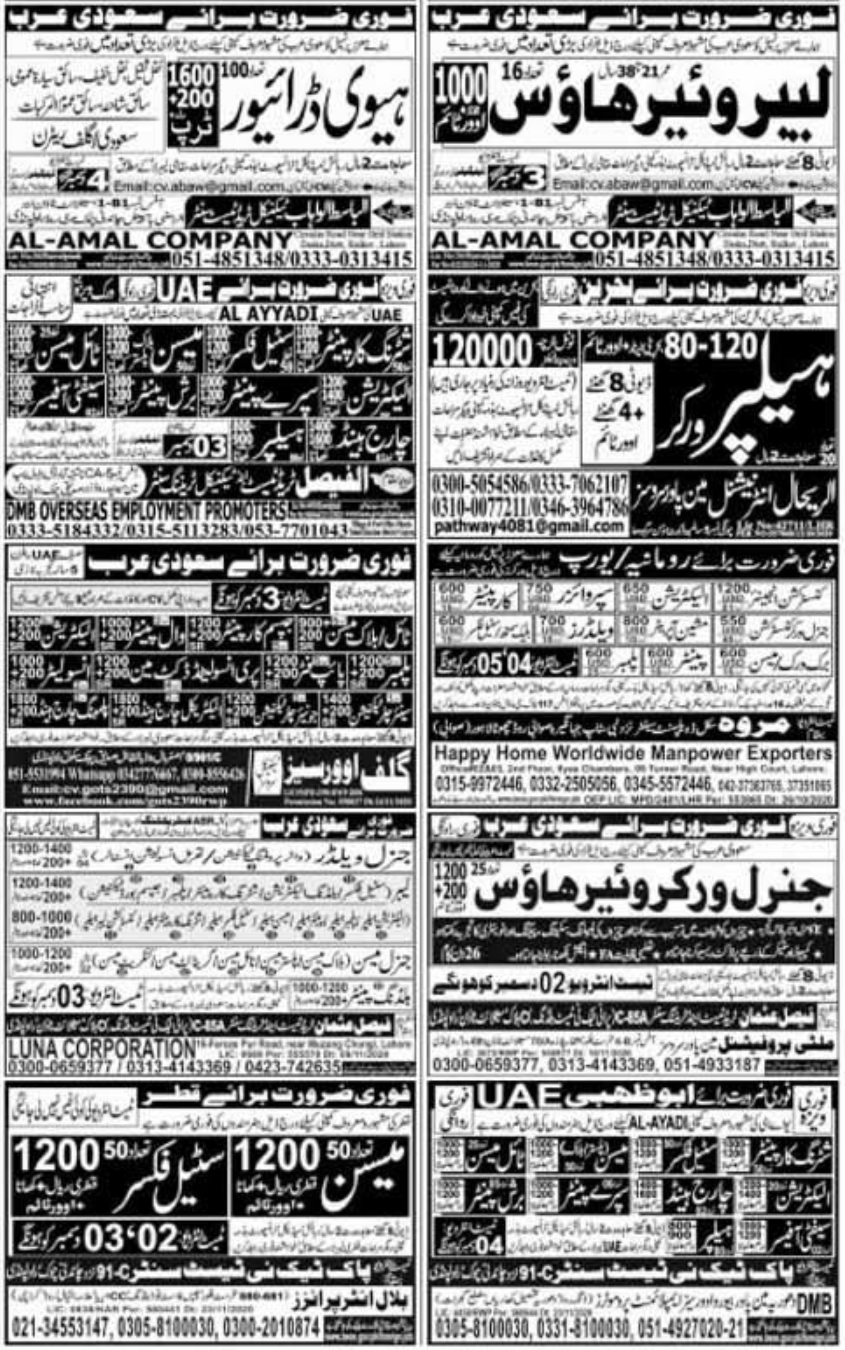 Express Newspaper Jobs 02 December 2020