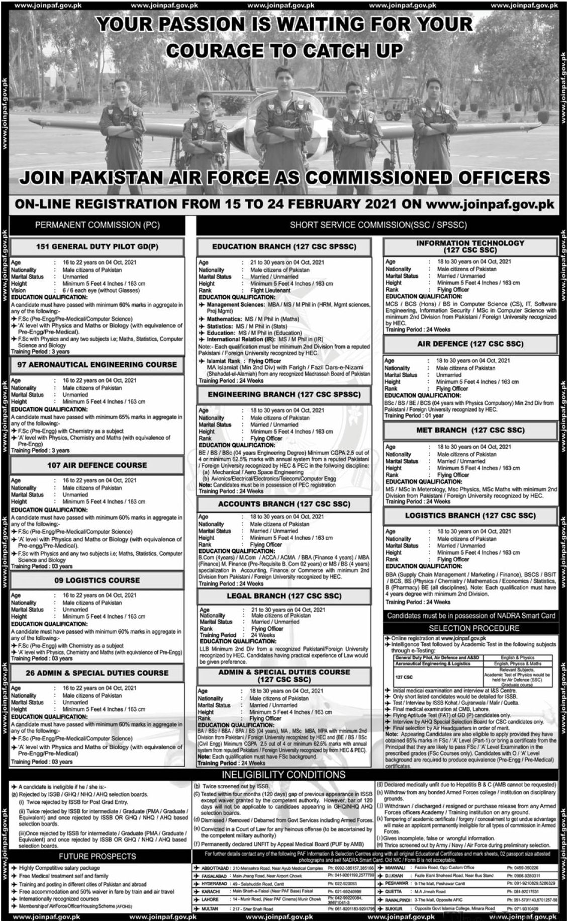 Join PAF Jobs February 2021