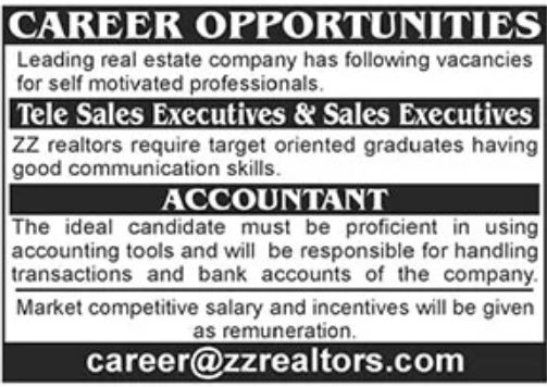 Real Estate Company Jobs August 2021